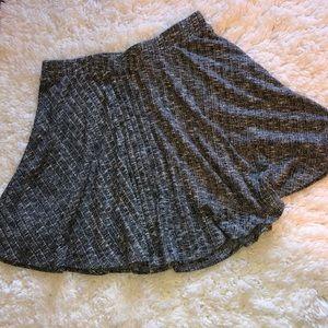 Grey sweater skirt